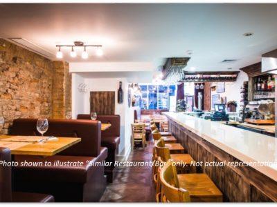 Well-Maintained Restaurant-Bar